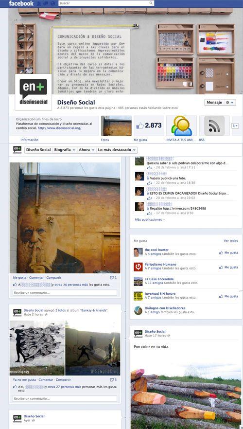 ¿Por qué estar en Facebook?%disenosocial