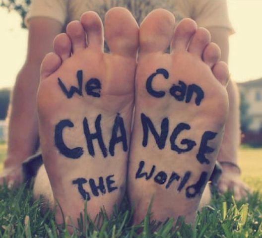 wechangetheworld Piensa globalmente, actúa localmente%disenosocial
