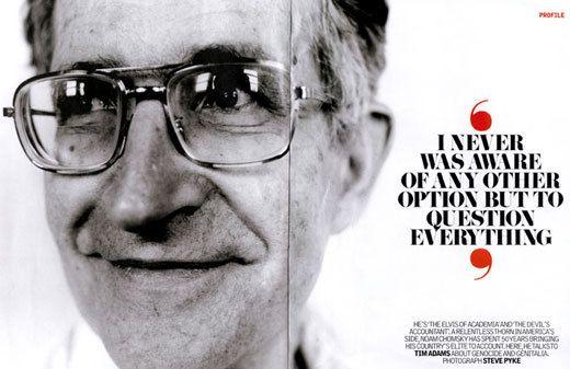chomsky CITAS  Doctrina del Shock, Noam Chomsky y Las 10 estrategias básicas de manipulación mediática ¡Difunde!%disenosocial